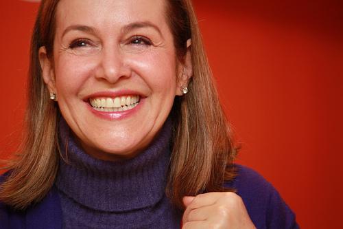 Noemí Sanín, candidata a la Presidencia de Colombia.